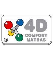 Leverancierslogo 4D comfort matras