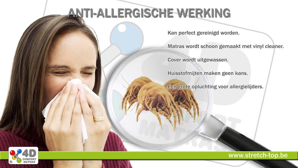 4D Comfort Matras Antiallergisch