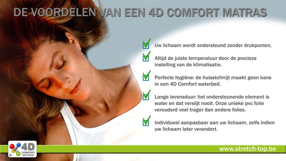 4D Comfort Matras Voordelen